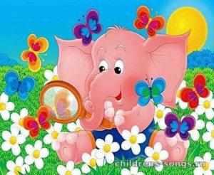текст песни «Розовый слон»