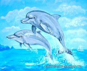 текст песни «Дельфины»