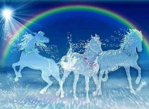 песня «Три белых коня» текст